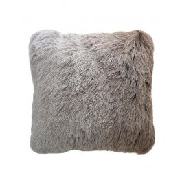 Beige Silver Ombre 45x45 Cushion