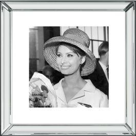 Sophia Loren Wall Art 46 x 46cm
