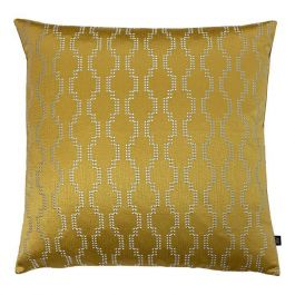 Nash Embroidered Cushion Antique/Gold