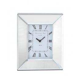 Mirror Box Table Clock