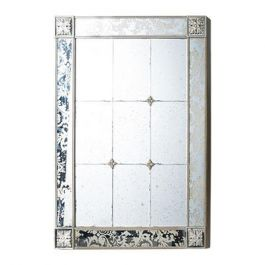 Baroque Patterned Wall Mirror