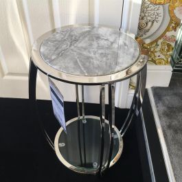 Scarlett Nest Table Grey Marble