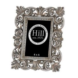 Antique Silver French Style Photo Frame 4x6