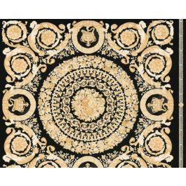 Versace Wallpaper Baroque Black
