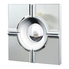 Round Ball Wall Mirror - Silver