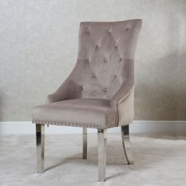 Megan Knocker Back Dining Chair Latte