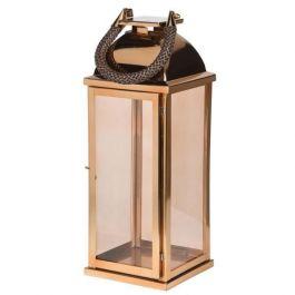 Large Roped Gold Lantern