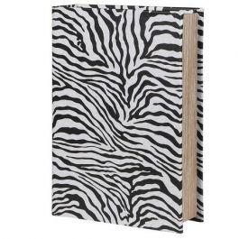 Zebra Book Box