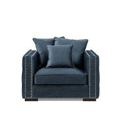 Valentia One Seater Sofa Blue