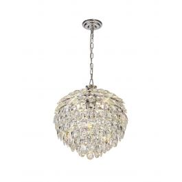 Natala 6 Light Chrome Chandelier