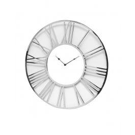 Chrome Wall Clock  90cm
