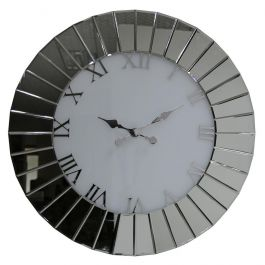 Mirror Fan Effect Wall Clock Large