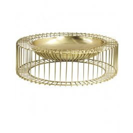 Gold Decorative 56cm Bowl