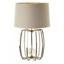 Cage Lamp Nickel Finish Small