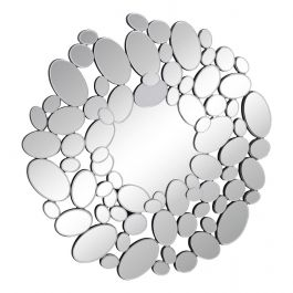 Round Bubble Wall Mirror