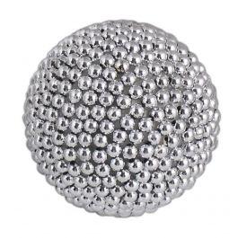 Silver Pearl Ornament Ball Medium