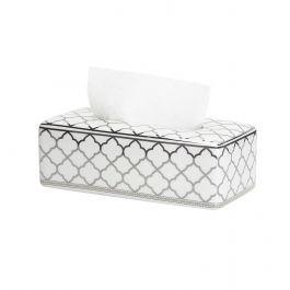 Baroque Silver Tissue Box