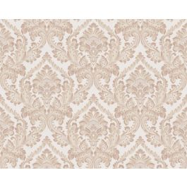 Di Seta Wallpaper Deco Beige & Brown