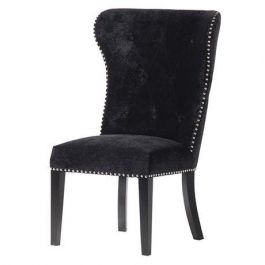 The Lion Back Black Dining Chair
