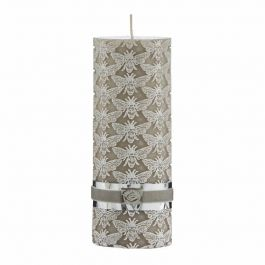 Bine Pillar Candle Pure Cashmere