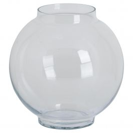 Glass Fish Bowl Vase