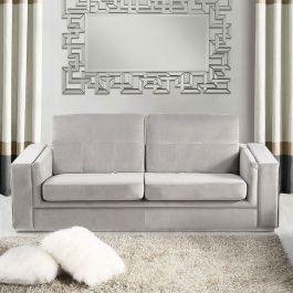 DENVER 3 Seater Sofa - Silver