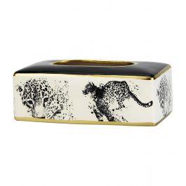 Leopard Tissue Box