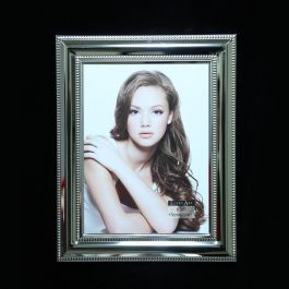 Silver Beaded Frame 6x8