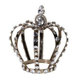 Crown Crystal Ornament Large