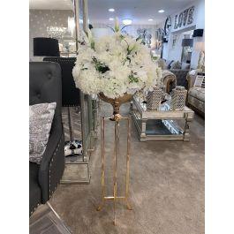 Floor Standing Vase - Gold