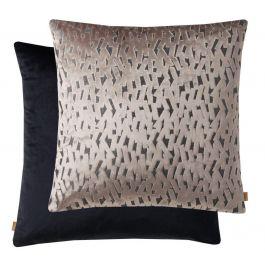 The Ada Blush Gold Black Cushion 50 x 50