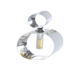 Oval Crystal Decorative Perfume Bottle Medium