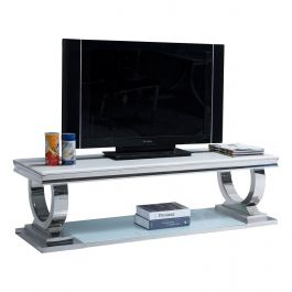 ALMA Ivory TV Stand