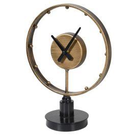 Round Clock On Base