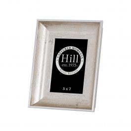 Crackled Silver Effect Photo Frame 5x7