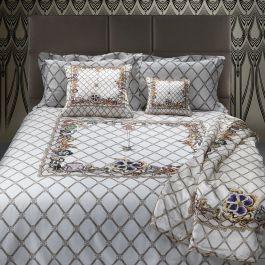 Cavalli Spider Duvet Cover Set White Kingsize