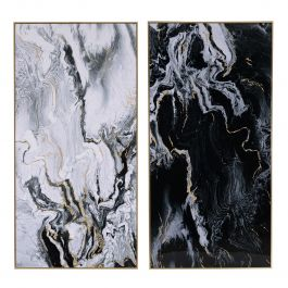 Marbled Wall Art Set Of 2