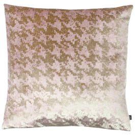 Nevado Velvet Jacquard Cushion Rose Gold/Blush