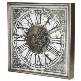 Cogs Distressed Wall Clock
