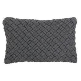 Kriss Charcoal Cushion