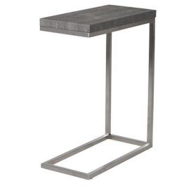 Leather Edging Sofa Table