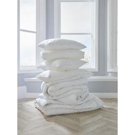 Luxury Square Pillow White