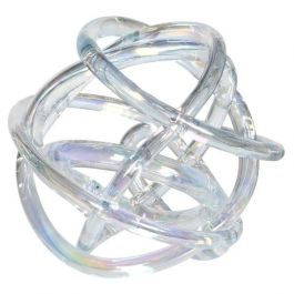 Clear Glass Knot Ornament