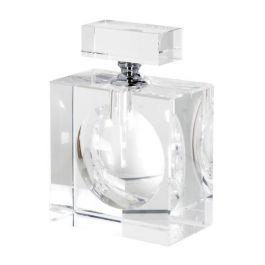 Large Flat Crystal Perfume Bottle