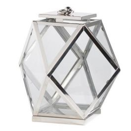 Nickel Angle Lantern Large