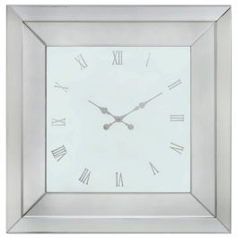Hattan White Large Wall Clock