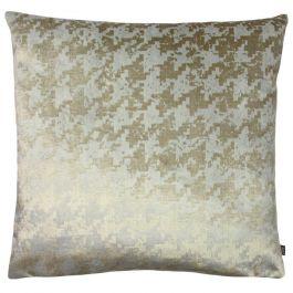 Nevado Velvet Jacquard Cushion Rose Sand/Mocha