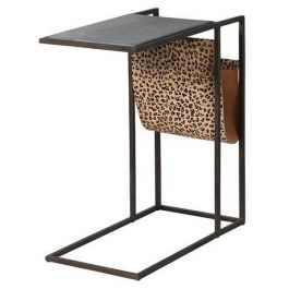 Leopard Marble Sofa Table