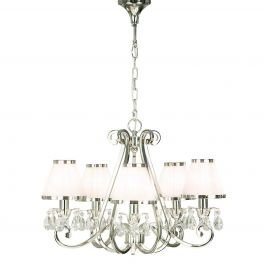 Oksana Nickel 5 Light Pendant