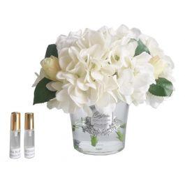 White Hydrangeas & Rosebuds